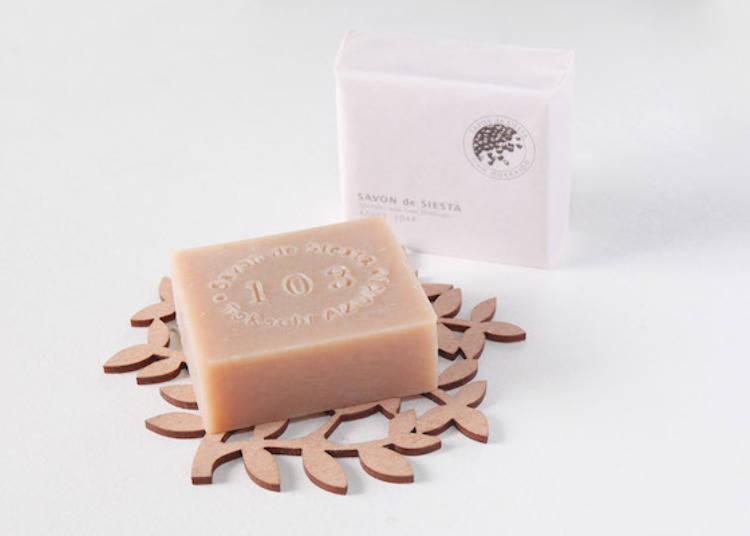 ▲「紅豆香皂(アズキ石鹸)」80g・1,080日圓