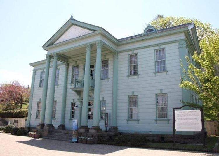 ▲現在的「元町觀光介紹所(元町観光案内所)」前身為舊北海道廳函館支廳廳舍。