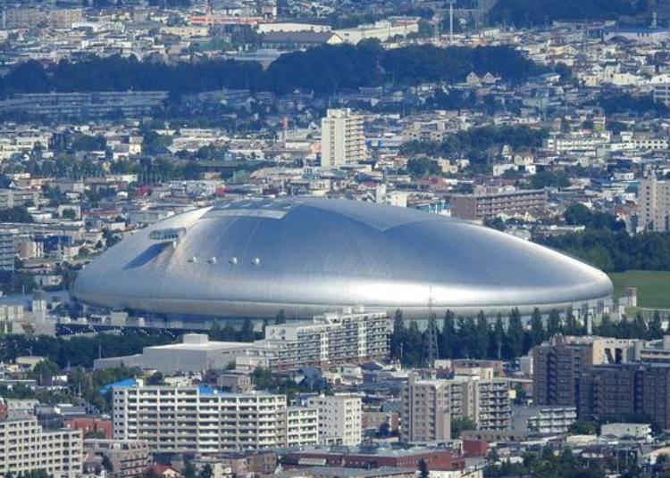 從另一個方向發現「札幌巨蛋」!