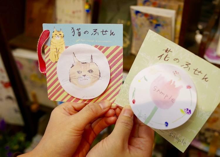 可愛淡彩便條可黏貼Memo紙 / 300 日圓