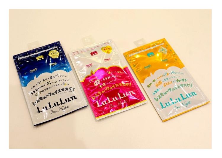 「lululun one night rescue面膜(ルルルン ワンナイトレスキューマスク)」1片200日圓(不含稅)
