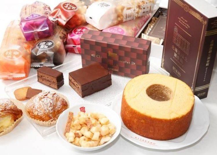 ▲北菓樓無論是人氣商品或是札幌本館限定的甜點都非常值得一嚐。