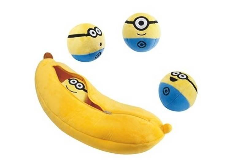 香蕉抱枕(4,800日圓)於粉絲商店等處販售(照片來源:日本環球影城)