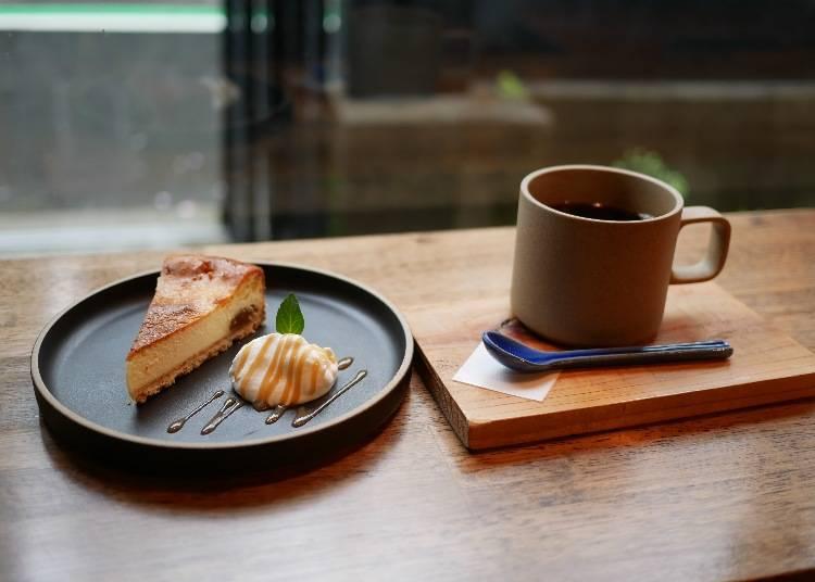 萊姆酒漬無花果起士蛋糕(ラム漬け無花果のチーズケーキ)565日圓(未稅)