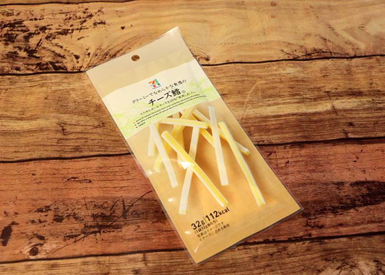 「チーズ鱈(起司鱈)32g」138日圓