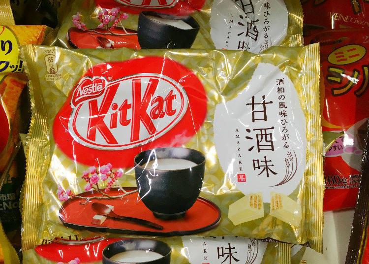 小松機場裡找到的機場限定KitKat