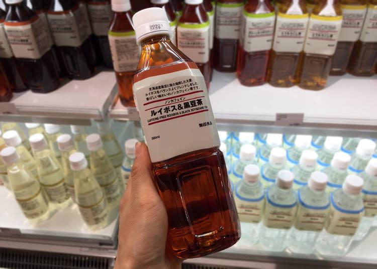 ▲PET無咖啡因博士黑豆茶(100日圓)