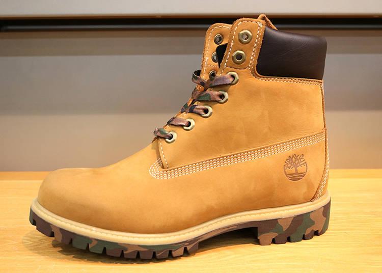 同樣款式,也有不同的鞋底顏色及多樣化圖案供顧客選擇