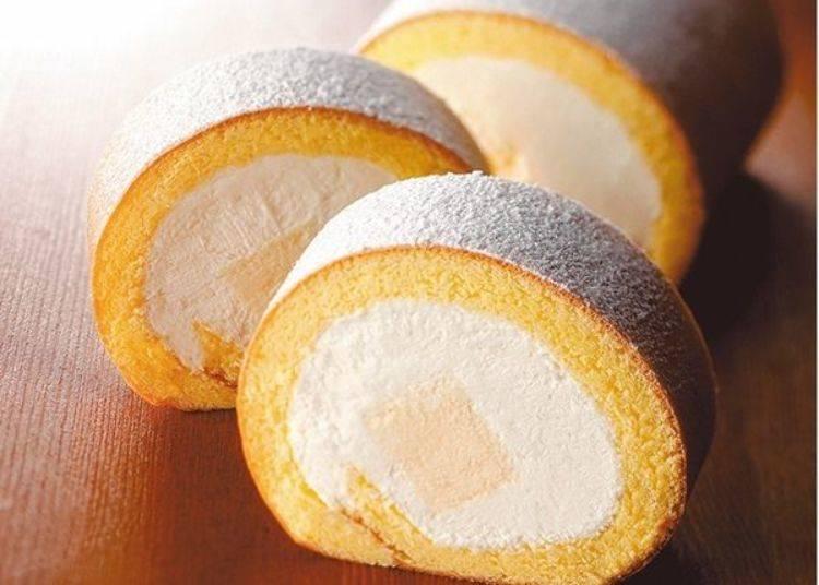 本店限定販售的生乳捲蛋糕「特製乳酪蛋糕捲(ドゥ・フロマージュロール)」(1條1,944日圓)