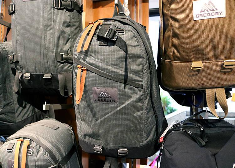 「GREGORY」的後背包非常耐用,使用得當的話,使用年限甚至長達10年以上。