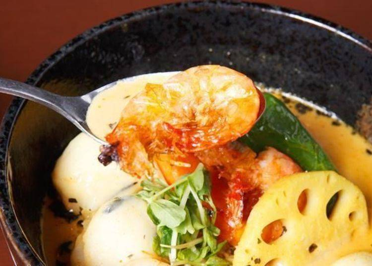 ▲泰式料理或是越南料理中常常可以見到軟殼蝦,正如其名,是連頭和殼都可以吃的柔軟蝦肉