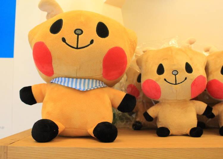 鹿可玩偶(大尺寸4,104日圓、小尺寸2,700日圓,皆為含稅價)