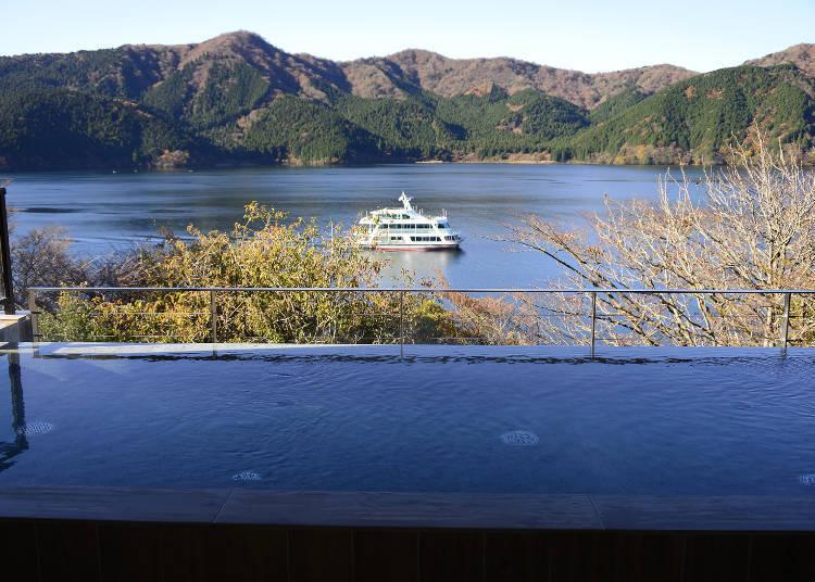 宛如佇立在眼前的蘆之湖風景