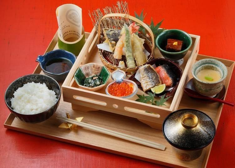 FIRST CLASS 銀米飯御膳 2296日圓(不含稅)