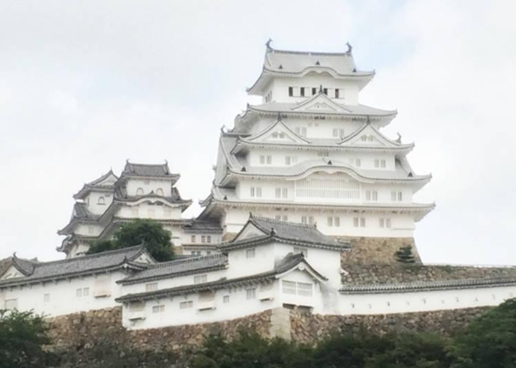 在兵庫旅行時拍的姫路城照片