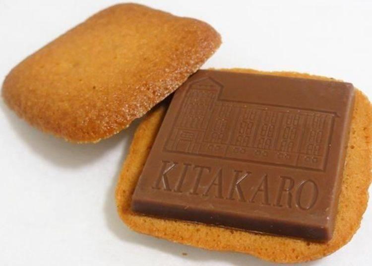 ▲巧克力片上印有北菓樓札幌本館的外觀