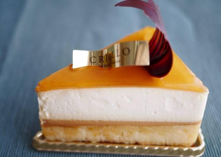 Gaia焦糖香草慕斯蛋糕 價格:650日圓(含稅)