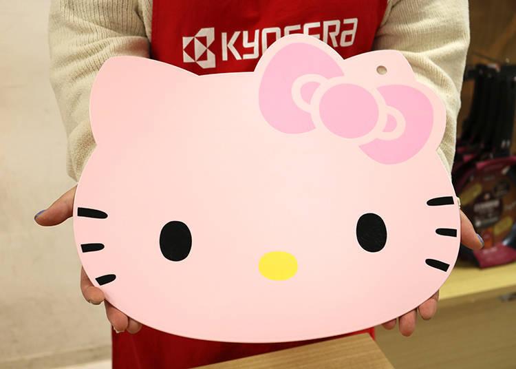 「Hello Kitty砧板」在喜愛Kitty的粉絲間大受歡迎!