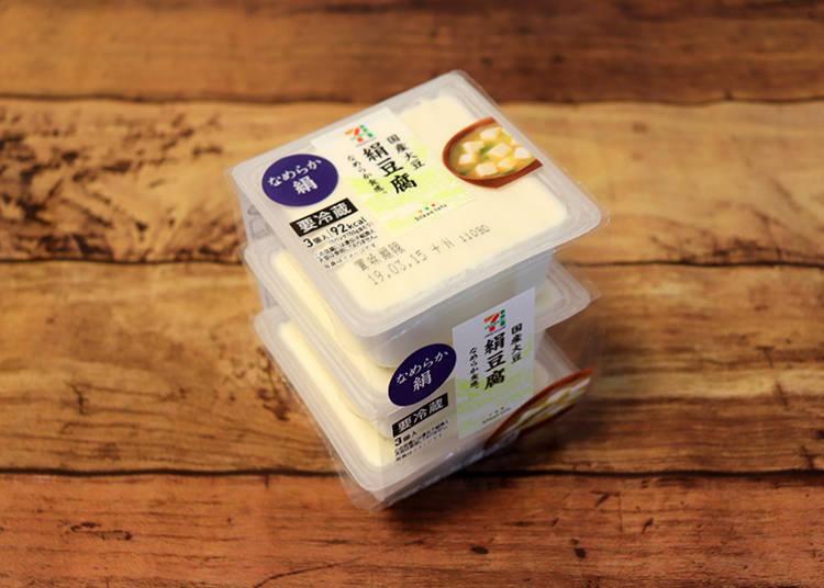 「國產大豆 絹豆腐」3盒裝108日圓