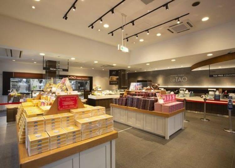 門市1樓的購物環境很寬敞舒適,從早到晚來購物的人潮絡繹不絕。