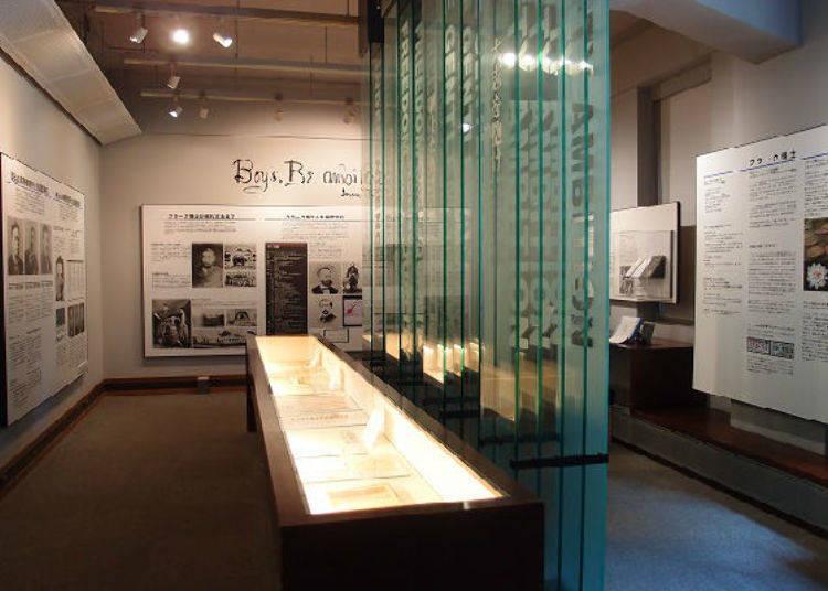 ▲北大綜合博物館的展示間「生生不息的札幌農學校精神」/照片提供:北海道大學綜合博物館