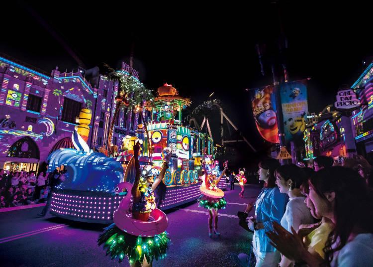 環球影城夜間奇觀遊行(照片來源:日本環球影城)