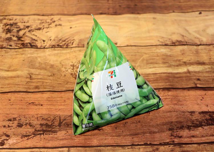 「毛豆(使用藻鹽)」170日圓