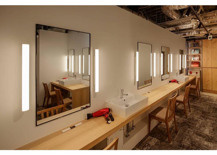 ▲6F 女性專用樓層 化妝室