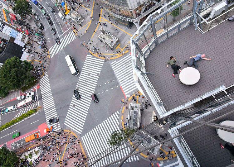 要看傳說中的澀谷十字路口就要來這裡!MAGNET by SHIBUYA109展望台