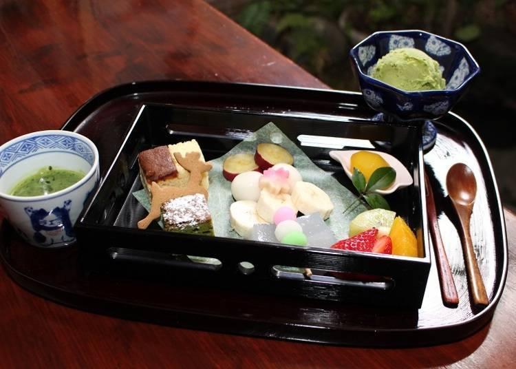抹茶巧克力鍋(含稅1,100日圓)