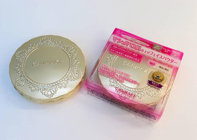 CANMAKE棉花糖蜜粉餅「Marshmallow Finish Powder」含稅1034日圓