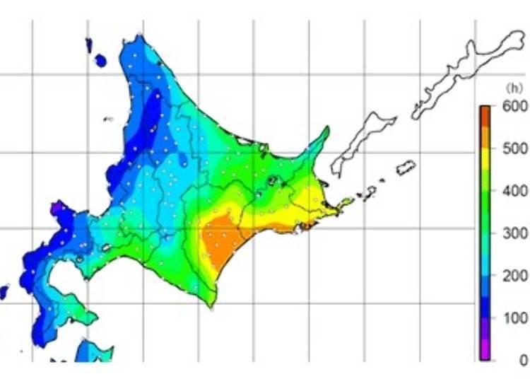 資料來源:氣象廳札幌管區氣象台