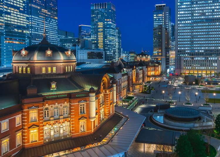 距離車站走路只要5分鐘!東京車站人氣夜景飯店3選