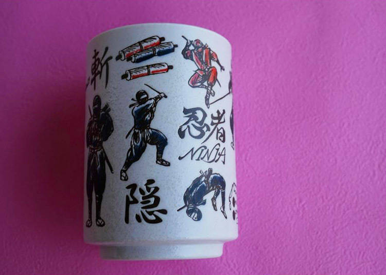 YAMATO / 壽司湯吞;忍者、直徑72x高102mm、約280ml / 864日圓(含稅)