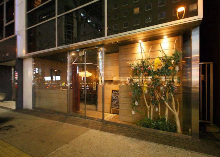 店外設計是採落地窗,「Bar WADURO」是一家可以輕輕鬆鬆就可以進入的酒吧