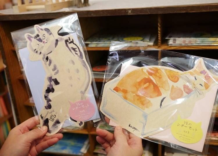 萌貓造型信紙組 / 480日圓