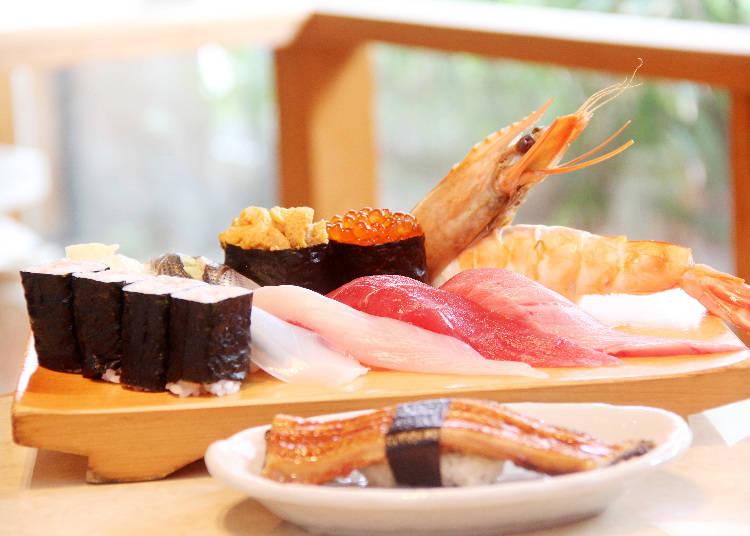 廣受外國觀光客歡迎的人氣套餐「Tokyo thukigi」(3564日圓)