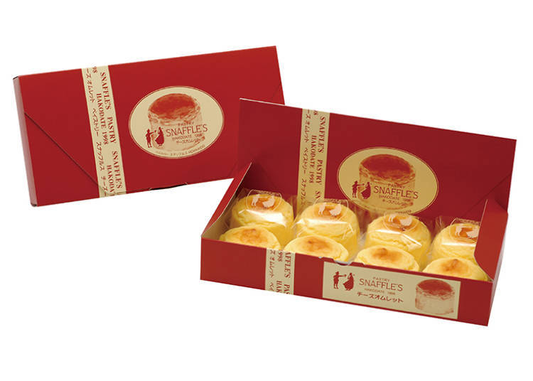 人氣No.1商品「起司歐姆雷蛋糕(チーズオムレット)」,彷彿要融化在口中的口感讓人欲罷不能