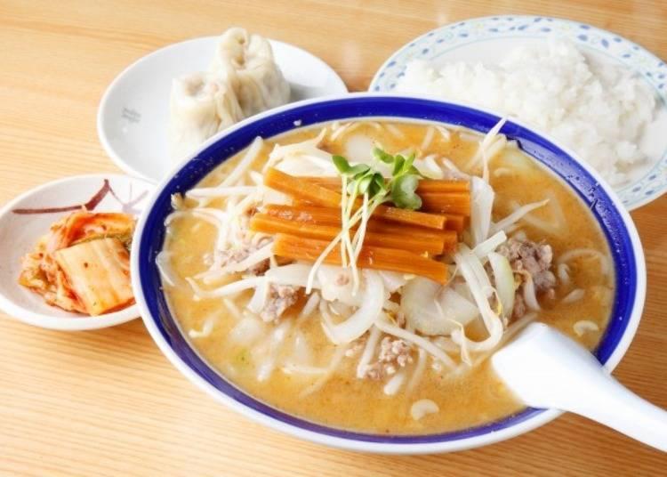 ▲札幌拉麵不僅延續傳統,各店家也獨自發展出自己的特色。