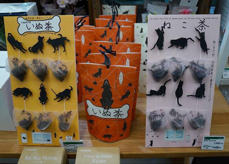 山壽杉本商店 / ねこ茶(3g x 6入 附貓咪造型標籤)/1,080日圓(含稅)