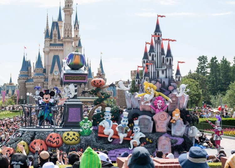 東京迪士尼樂園 「Boo!幽靈怪誕大遊行」 ©Disney