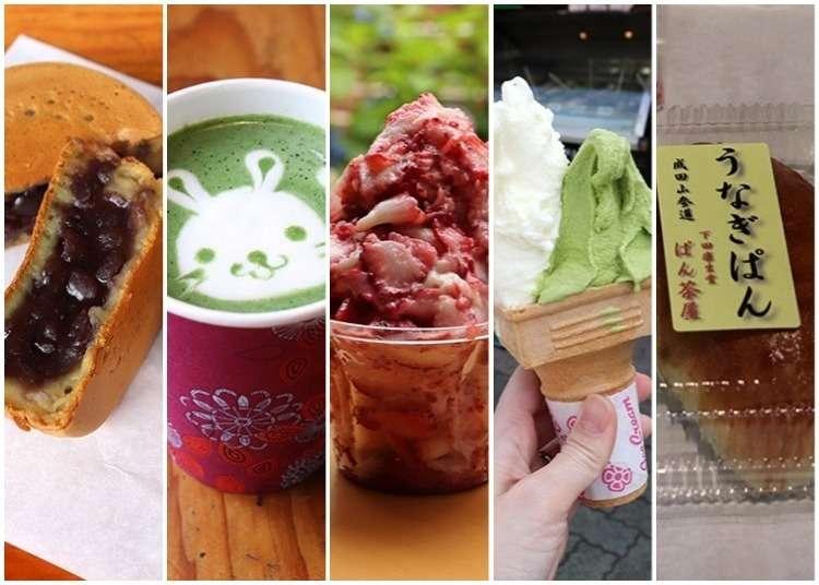 成田機場周邊漫步~成田山表參道上可以悠哉邊走邊吃的美食5選!