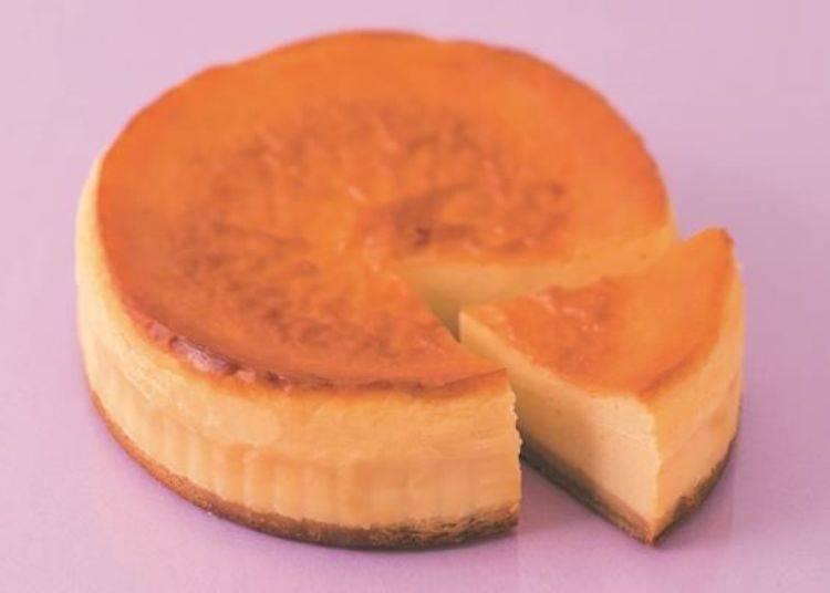 ▲北菓樓KITAKARO L店限定商品之一的「L起司蛋糕(Lチーズケーキ)」1200日圓/照片提供:北菓樓