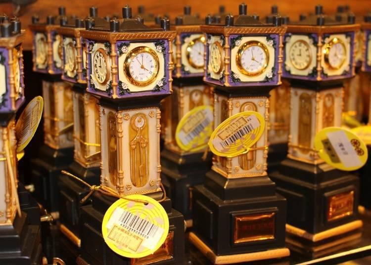蒸氣時鐘音樂盒(4104日圓)