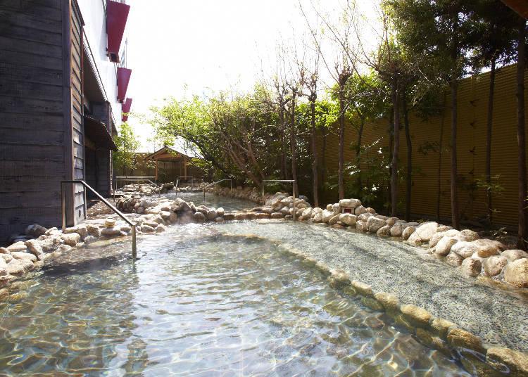 日本溪流露天溫泉~溪流之湯~