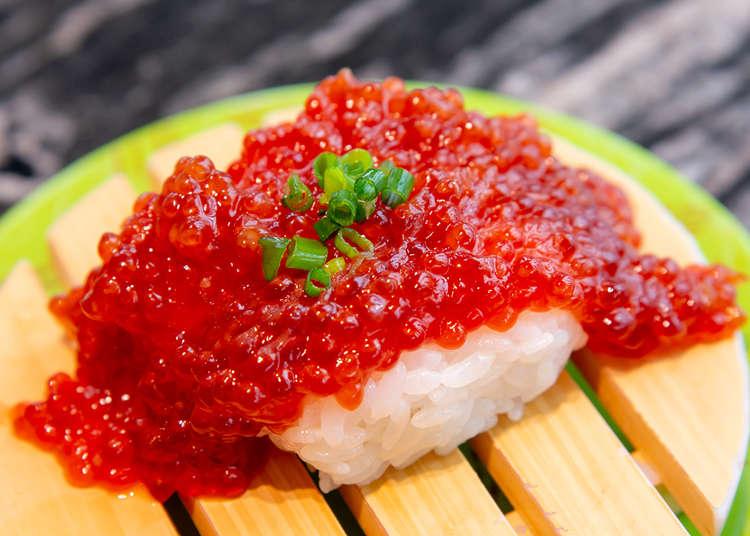 在東京也能吃到北海道正宗海鮮!TOKYU PLAZA銀座必吃「根室花丸迴轉壽司」