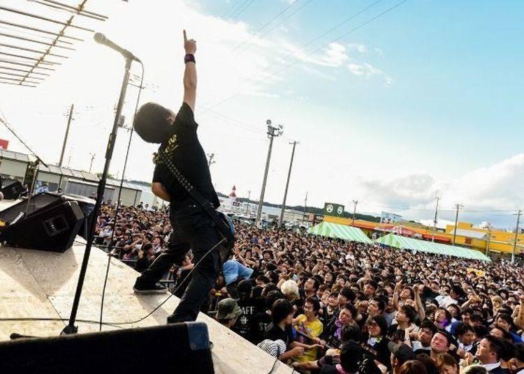 ▲由市場主辦的露天音樂祭活動十分特別,免費入場(圖片提供:八食中心)