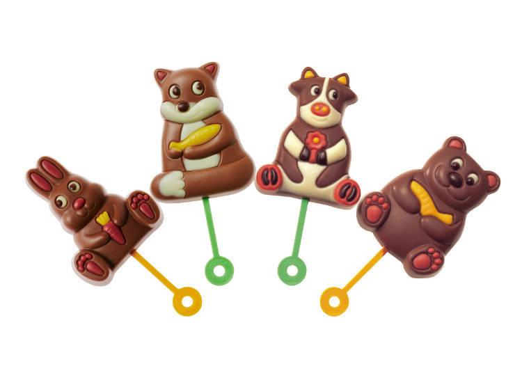 動物外型的「Royce' Pop Chocolate(ロイズポップチョコ)」十分討孩子喜歡
