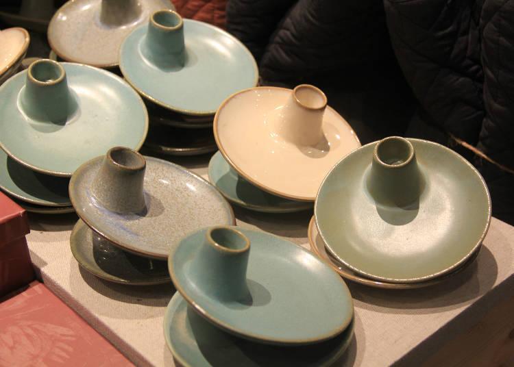 陶瓷燭台:624日圓