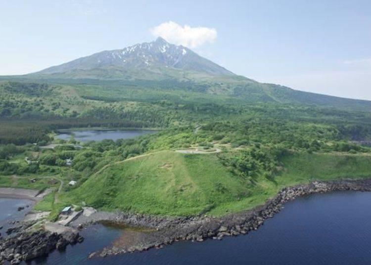 在島上共有16處設有集點印章!(照片提供:利尻富士町觀光協會)